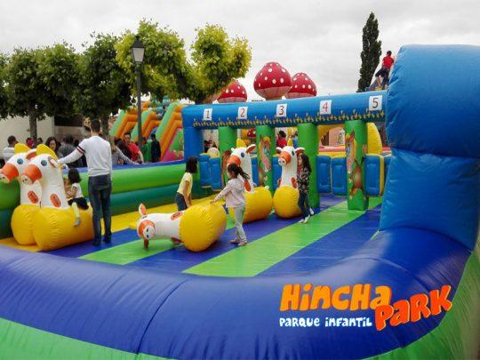 Hinchapark castillos hinchables parques infantiles hinchables hinchapark eventos castillos - Hinchables de agua para piscinas ...
